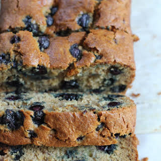 Gluten Free Blueberry Banana Bread.