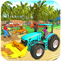 Real Tractor Driving And Tractor Farming