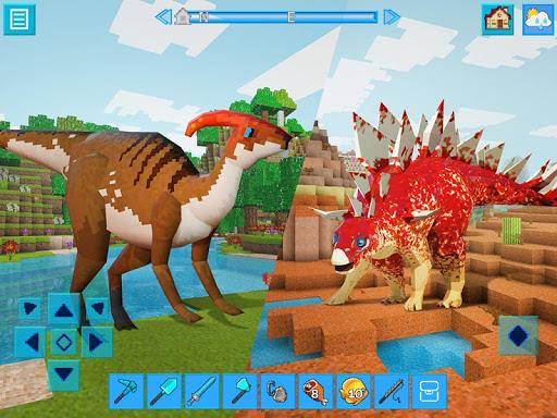 RaptorCraft 3D: Survival Craft u25ba Dangerous Worlds  screenshots 3