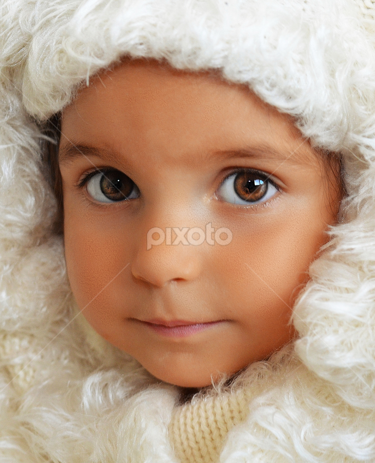 Mary had a little lamb by Julian Markov - Babies & Children Child Portraits