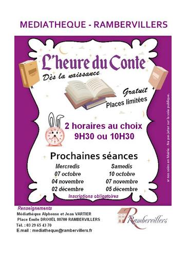 Médiathèque - Conte