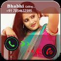 Bhabhi Fake Call Prank icon