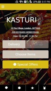 KASTURI RESTAURANT- screenshot thumbnail