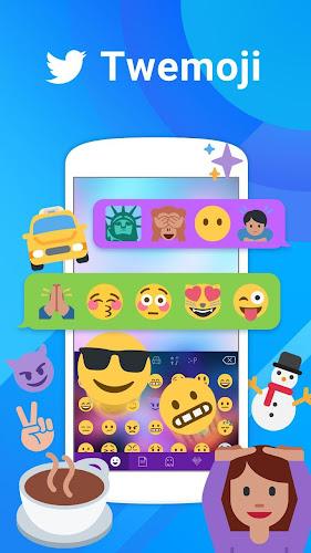 Twemoji for Kika Keyboard Android App Screenshot