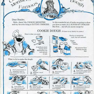 Cookie Monster's Famous Sugar Cookie Dough.