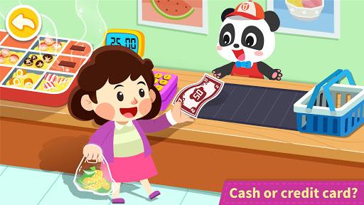 Baby Panda's Town: Supermarket screenshot 3