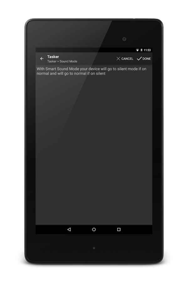 Sound Mode Tasker Plugin- screenshot