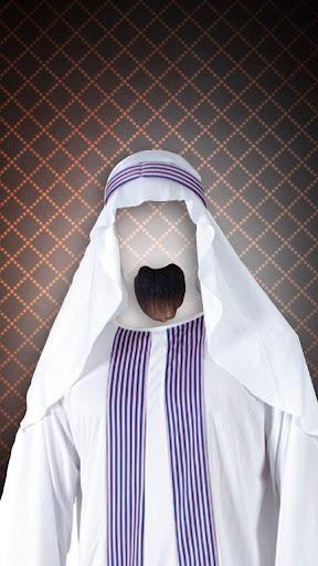 阿拉伯男人時尚寫真套裝