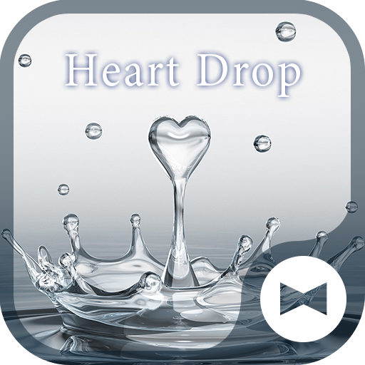 CoolWallpaper Heart Drop Theme Icon