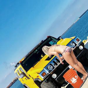 H2  07,HUMMER,LUXPXG三井D車のカスタム事例画像 ヨシクマ🇺🇸🍍さんの2019年03月13日09:35の投稿