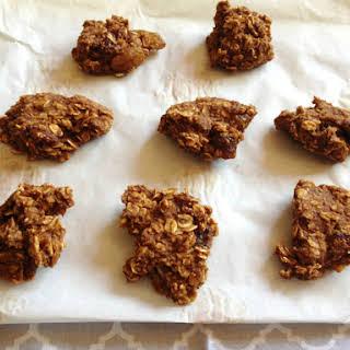 Vegan, Gluten-Free, and Sugar-Free Pumpkin Oatmeal Cookies – Elimination Diet.