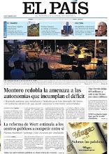 Photo: Montoro redobla la amenaza a las autonomías que incumplan el déficit, Díaz Ferrán debía 419 millones y solo tenía bienes por cinco millones y la reforma de Wert estimula a los centros públicos a competir entre sí, en nuestra portada del viernes 7 de diciembre http://srv00.epimg.net/pdf/elpais/1aPagina/2012/12/ep-20121207.pdf
