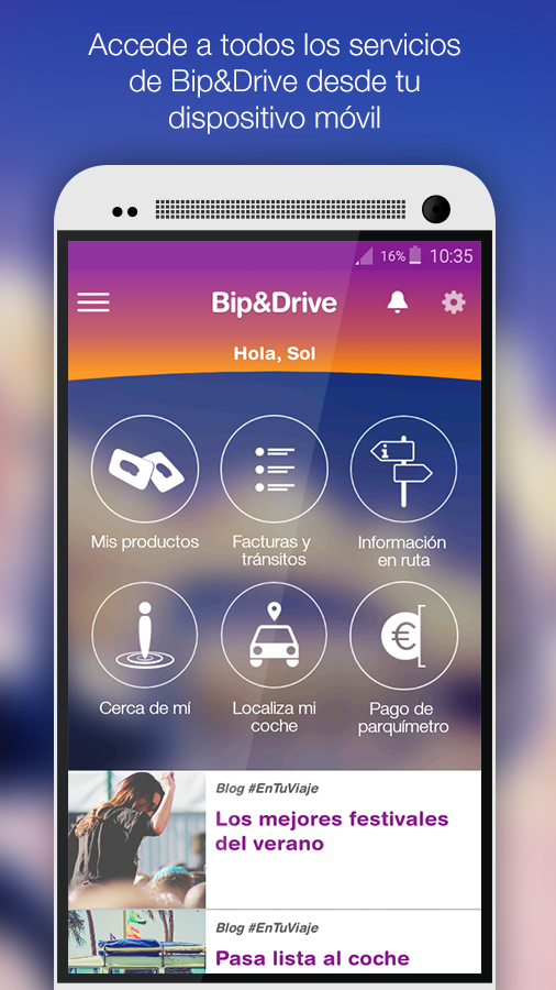 Bip&Drive- screenshot