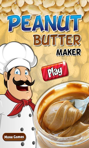 Peanut butter maker cooking