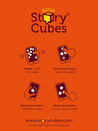 Foto do Rory's Story Cubes