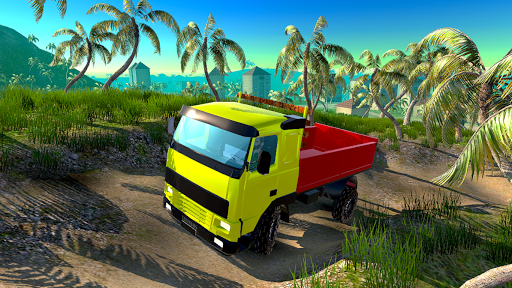 4x4 Off-Road Truck Simulator: Tropical Cargo 3.9 screenshots 11