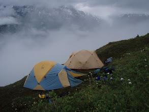 Photo: 26 July 2010 camp