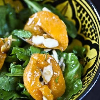 Arugula-Mint Salad with Apricots and Cumin