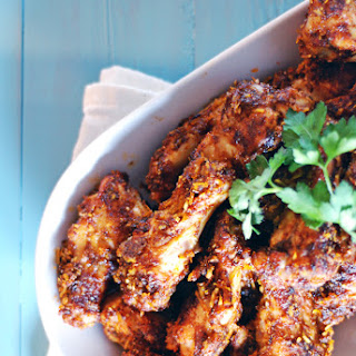 Spicy Parmesan Barbecue Chicken Wings