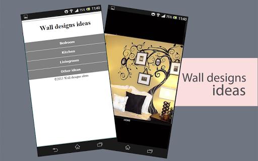 Wall designs ideas
