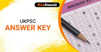 UKPSC Answer Key 2020: Download Uttarakhand PSC Answer Key PDF