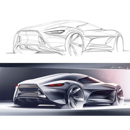Drawing Super Cars