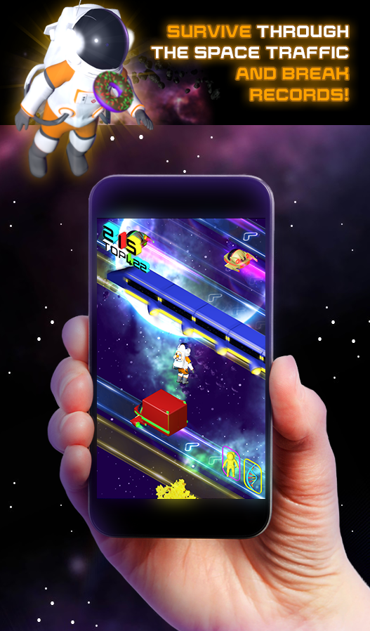 Crossy Space- screenshot