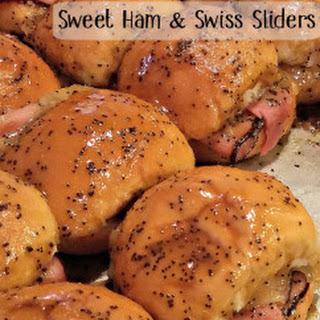 Sweet Ham & Swiss Sliders