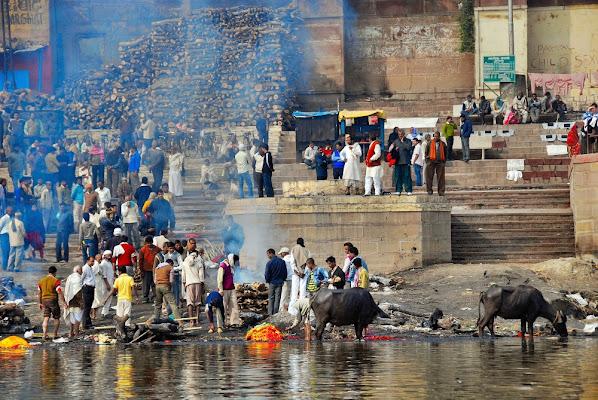 Crematorio sul Gange. di serendipity4