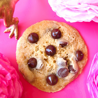1 Minute Chocolate Chip Cookie for 1.