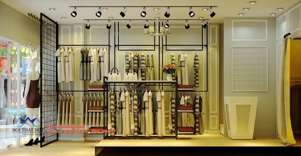 thiết kế shop thời trang nữ nhỏ 3