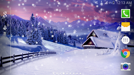 Snow Live Wallpaper PRO