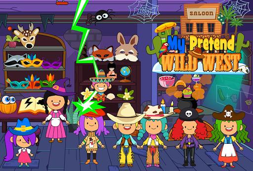 My Pretend Wild West - Cowboy & Cowgirl Kids Games ss2