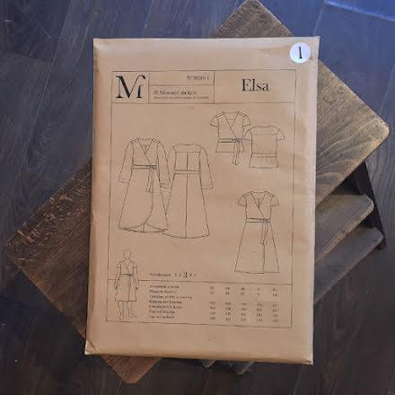 Elsa Omlottklänning av Mönsterfabriken