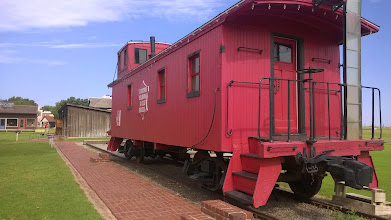 Photo: August 9-Just like any guy, I appreciate a good looking caboose.