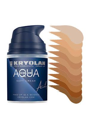 Aquacolor cream 50ml, hudtoner