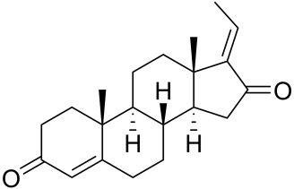 Image result for Guggulsterone structure