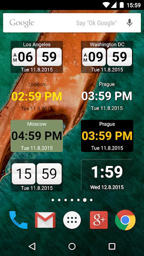 World Clock Widget 2015 Unlock