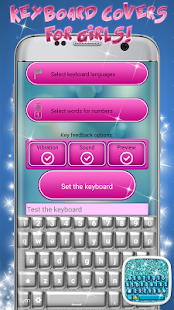 Glitter Keyboard Themes - náhled