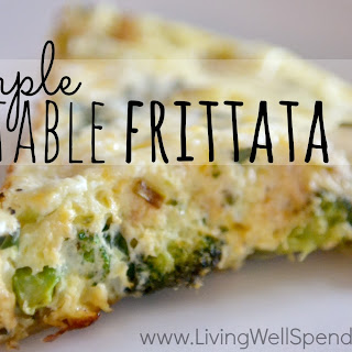 Simple Vegetable Frittata