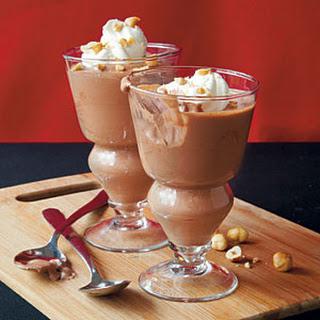 Chocolate-Hazelnut Mousse.