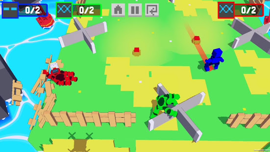 Download Robot Battle 1-4 player offline mutliplayer game For PC Windows and Mac apk screenshot 6
