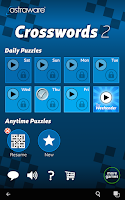 Screenshot of Astraware Crosswords