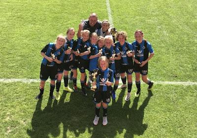 Club Brugge (onder naam West Flames) won Beker van België bij de U13