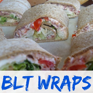 BLT Wraps - The Perfect Summertime Meal