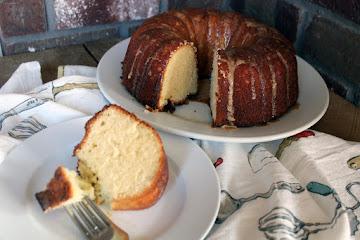 Rum Glazed Pound Cake Recipe