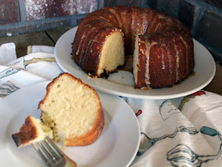 Rum Glazed Pound Cake Recipe