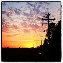 Photo: Maple Ridge dykes in the sunset #intercer #sunset #britishcolumbia #mapleridge #pittmeadows #canada #sun #night #dark #redsky #sky #beautiful #life #clouds #dyke #walk #park - via Instagram, http://ift.tt/1rMukf5