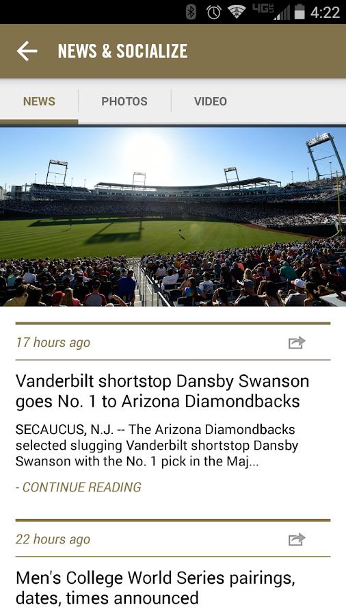 NCAA® College World Series - screenshot