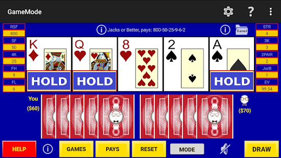 Play Perfect Video Poker Pro - náhled